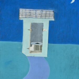 Blue-Outhouse